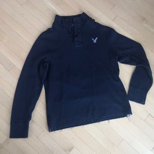 American Eagle navy sweater pullover